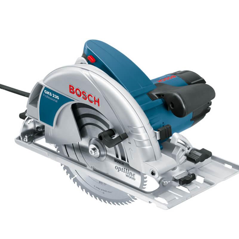 Máy cưa đĩa Bosch GKS 235 cầm tay tiện dụng cho nhiều công việc khác nhau