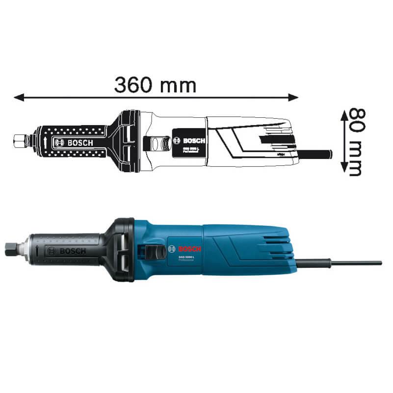 Máy Mài Thẳng Bosch GGS 5000 L Professional Chính Hãng Giá Cực Tốt