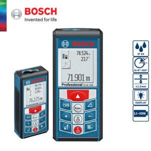 Máy đo khoảng cách Bosch GLM 100 chất lượng cao cho khả năng hỗ trợ đa dạng