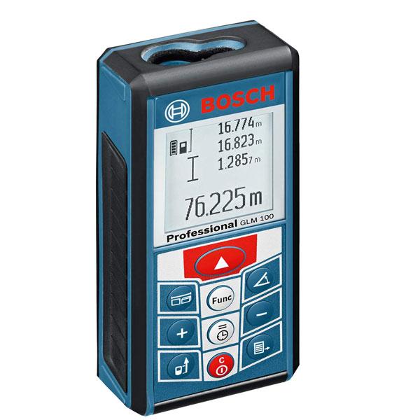 Máy đo khoảng cách GLM 100 cho hiệu quả tối đa trong công việc