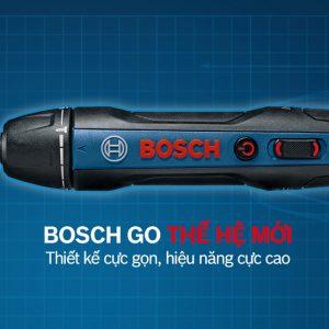 Thiết kế hiện đại đầy tiện lợi của dòng máy vặn vít Bosch GO GEN 2