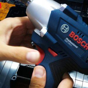 Thiết kế tiện lợi cho nhiều sự trợ giúp của dòng máy siết ốc Bosch GDS 250
