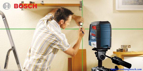Bosch GLL 30 G độ chính xác cao cung cấp khả năng hỗ trợ tuyệt vời trong công việc