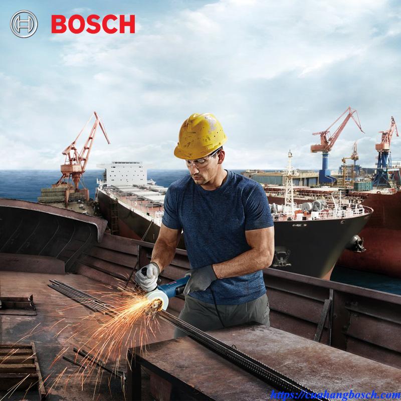 Máy mài góc Bosch GWS 9-100 P mạnh mẽ trong mọi hoàn cành thi công