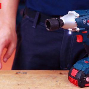 Máy siết ốc vít động lực dùng pin Bosch GDS 250 hiện đại với nhiều tính năng vượt trội