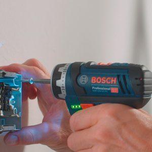 Hình ảnh thi công thực tế cùng dòng máy khoan bắt vít cầm tay Bosch GSR 12V 15-FC