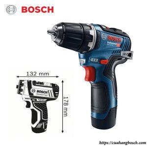 Máy khoan vặn vít dùng pin Bosch GSR 12V 15-FC nhỏ gọn cho các yêu cầu thi công đặc biệt