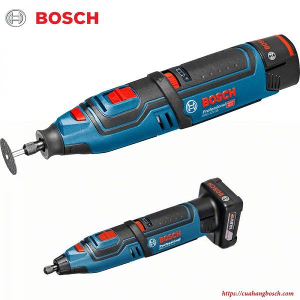 Máy cắt xoay Bosch GRO 12v-35 cho khả năng hỗ trợ đa dạng trong công việc