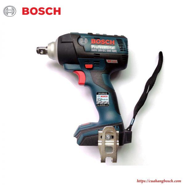 Máy siết bu lông động lực dùng pin cầm tay Bosch GDS 18V-EC 300 ABR chính hãng