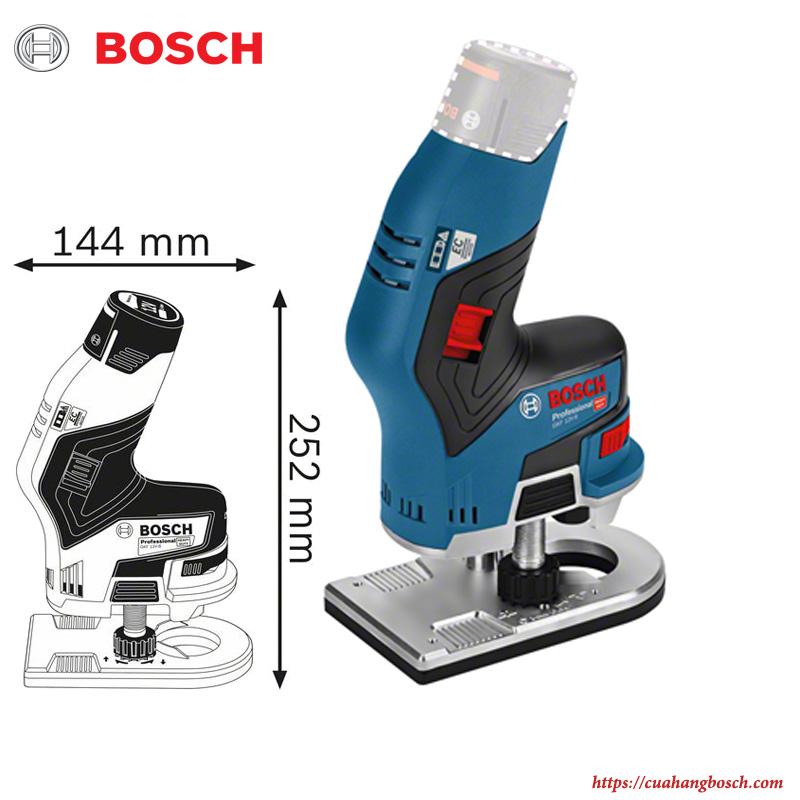 Máy phay Bosch GKF 12V-8 chính hãng chất lượng cao