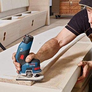 Bosch GKF 12V-8 Professional cho hiệu quả cao trong các nhu cầu xử lý gỗ