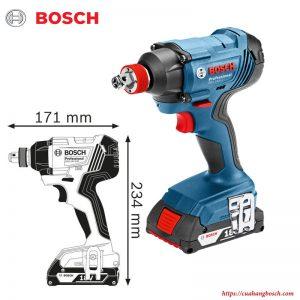 Máy bắt ốc vít động lực Bosch GDX 180 LI chính hãng chất lượng cao