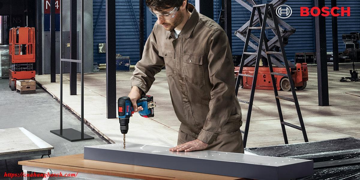 Bosch GSR 18V-50 hỗ trợ da dạng trên nhiều chất liệu khác nhau