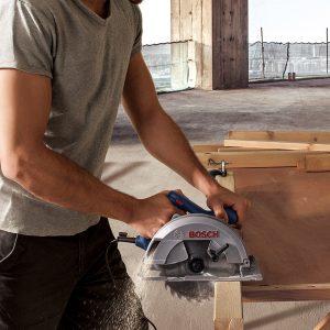 Máy cưa gỗ Bosch GKS 140 thúc đẩy hiệu quả quá trình hoàn thành công việc