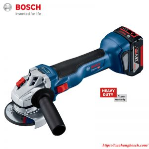 Máy mài góc Bosch GWS 18V-10 nhỏ gọn mạnh mẽ cho hiệu quả cao trong công việc