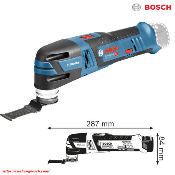 Bosch GOP 12v-28 nhỏ gọn cho khả năng xử lý linh hoạt trong công việc