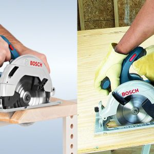 Máy cưa gỗ dùng pin Bosch GKS 18V-57 cho hiệu quả cao trong công việc