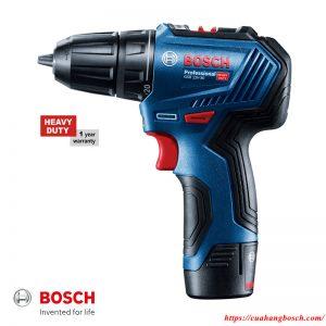 Máy khoan pin vặn vít Bosch GSR 12V-30 không chổi than hiện đại
