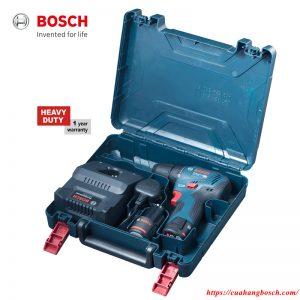 Trọn bộ máy khoan vặn vít cầm tay dùng pin Bosch GSR 12V-30