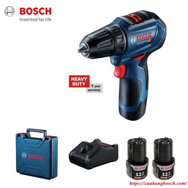 Bosch GSR 12V-30 nhỏ gọn tiện dụng trong hàng loạt các ứng dụng