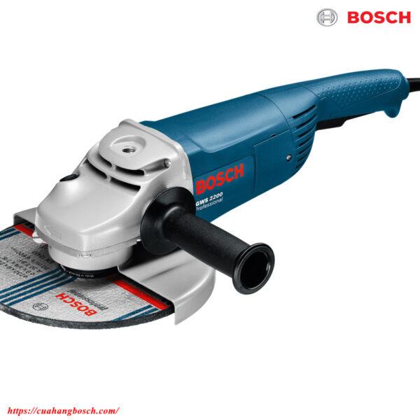 Hình ảnh máy mài góc lớn Bosch GWS 2200 chính hãng