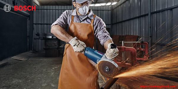 Bosch GWS 2200-180/230 cho phép thúc đẩy nhanh chóng tiến tình thực thi của người lao động
