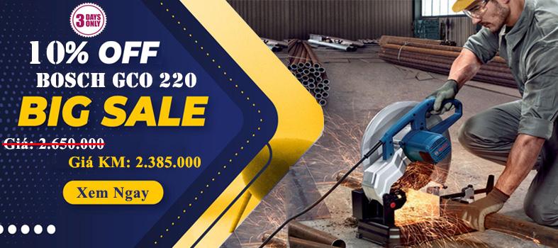 Siêu giảm giá máy cắt GCO 220 từ cửa hàng Bosch