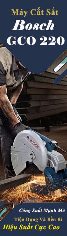 Banner máy cắt sắt mạnh mẽ công suất cao của hãng Bosch