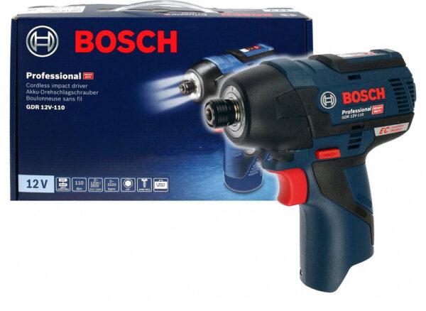 Máy vặn ốc vít dùng pin Bosch GDR 12V-110 động cơ không chổi than