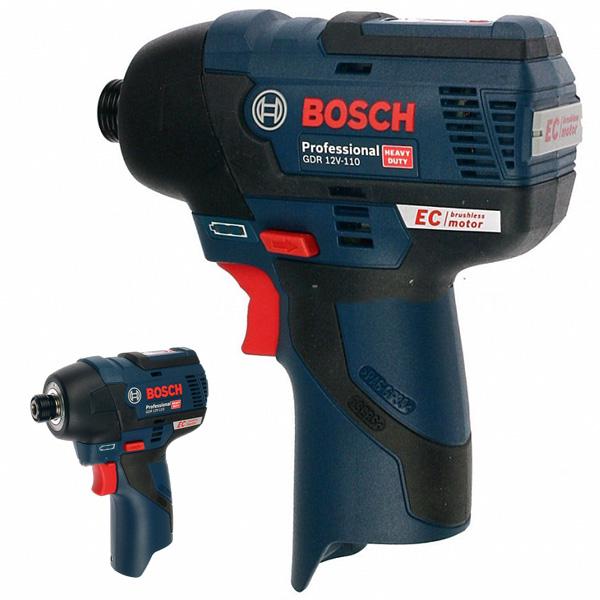 Máy bắt vít động lực dùng pin Bosch GDR 12V-110 Solo nhỏ gọn