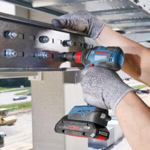 Máy siết ốc Bosch GDX 18V-200C đáp ứng đa dạng nhiều ứng dụng khác nhau