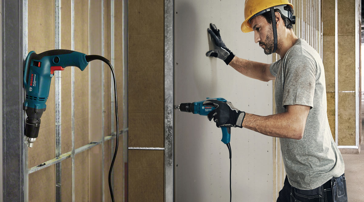 Máy bắt vít Bosch GTB 650 Professional đáp ứng mạnh mẽ các yêu cầu ứng dụng tường khô