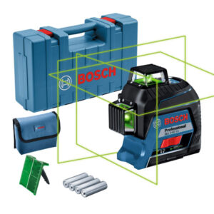 Máy cân mực laser xanh Bosch GLL 3-80 XG với hàng loạt các tính năng hiện đại