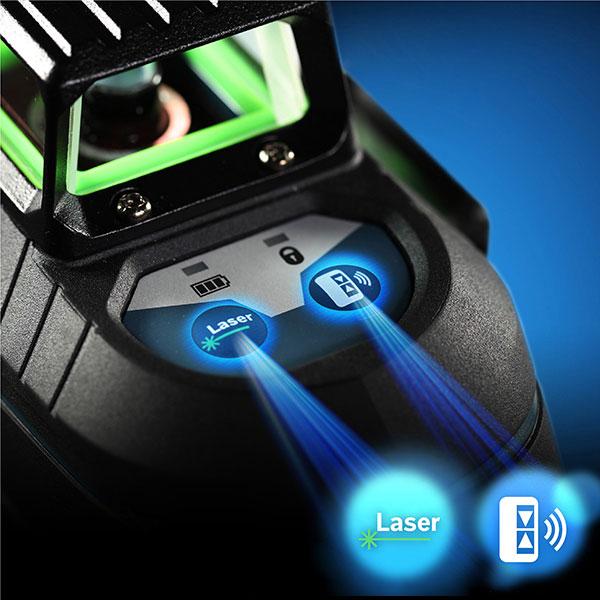 Máy cân mực laser xanh Bosch GLL 3-80 XG mới với nhiều tính năng nổi ưu việt