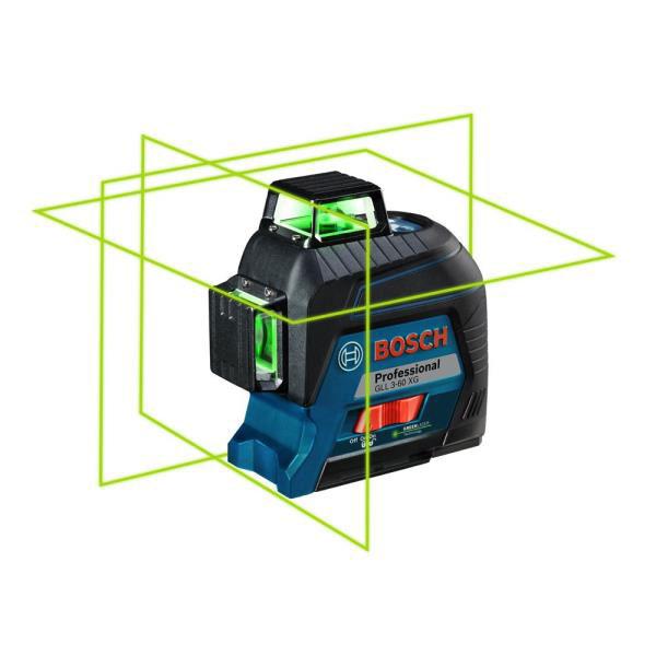 Máy cân mực laser xanh Bosch GLL 3-80 XG đa dụng