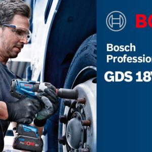 Máy siết ốc Bosch GDS 18V-1050 H Professional trong ngành ô tô