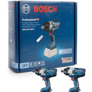 Máy siết ốc Bosch GDS 18V-1050 H Professional solo không pin sạc