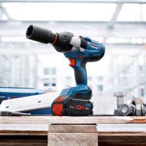 Máy siết ốc bulong Bosch GDS 18V-1050 H chuyên nghiệp cung cấp khả năng ứng dụng đa dạng trong nhiều ngành nghề