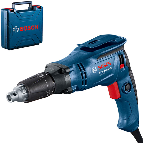 Máy bắt vít tường khô Bosch GTB 650 đem tới sự hiệu quả trong công việc